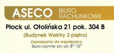 Aseco Biuro Rachunkowe Płock