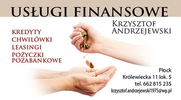 Usługi Finansowe Krzysztof Andrzejewski Płock