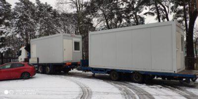 Transport domków letniskowych Płock