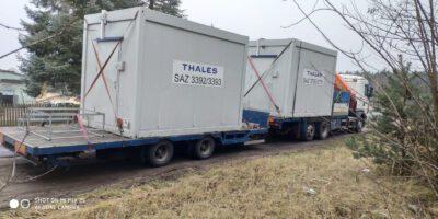 Transport kontenerów cała Polska