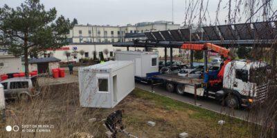 Transport kontenerów dla szpitali Płock